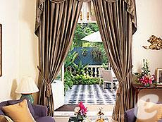 バンコク チャオプラヤー川周辺のホテル : マンダリン オリエンタル バンコク(Mandarin Oriental Bangkok)のお部屋「ジョセフ コンラド スイート」