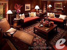 バンコク チャオプラヤー川周辺のホテル : マンダリン オリエンタル バンコク(Mandarin Oriental Bangkok)のお部屋「サイアム スイート」