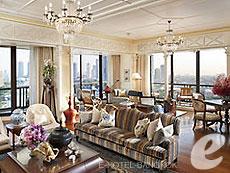 バンコク チャオプラヤー川周辺のホテル : マンダリン オリエンタル バンコク(Mandarin Oriental Bangkok)のお部屋「ロイヤル オリエンタル スイート」