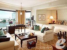 バンコク チャオプラヤー川周辺のホテル : マンダリン オリエンタル バンコク(Mandarin Oriental Bangkok)のお部屋「マンダリンルーム」