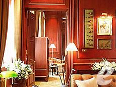 バンコク チャオプラヤー川周辺のホテル : マンダリン オリエンタル バンコク(Mandarin Oriental Bangkok)のお部屋「アディソン ロッジ ヘリテイジ スイート」