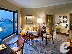 バンコク チャオプラヤー川周辺のホテル : マンダリン オリエンタル バンコク(Mandarin Oriental Bangkok)のお部屋「ファミリー 2ベッドルーム スイート」