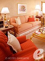 バンコク チャオプラヤー川周辺のホテル : マンダリン オリエンタル バンコク(Mandarin Oriental Bangkok)のオーサーズ スイートルームの設備 Living Room