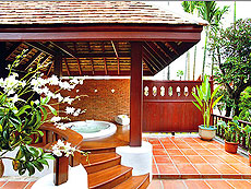 Deluxe Villa with Outdoor Jacuzzi : The Dhara Dhevi Hotel Chiang Mai, Couple & Honeymoon, Chiangmai