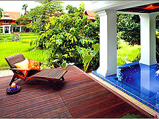 Grand Deluxe Villa with Plunge Pool : The Dhara Dhevi Hotel Chiang Mai, Couple & Honeymoon, Chiangmai