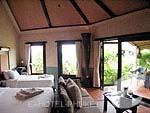 プーケット 10,000~20,000円のホテル : マンゴスチン リゾート & アーユルベーダ スパ(Mangosteen Resort & Ayurveda Spa)のデラックスジャグジールームの設備 Room View