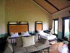 プーケット その他・離島のホテル : マンゴスチン リゾート & アーユルベーダ スパ(1)のお部屋「デラックスジャグジー」