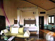プーケット その他・離島のホテル : マンゴスチン リゾート & アーユルベーダ スパ(1)のお部屋「ロイヤル ジャグジー スイート」