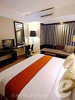 パタヤ サウスパタヤのホテル : マニタ ブティック ホテル(Manita Boutique Hotel)のデラックス ルームルームの設備 Bedroom