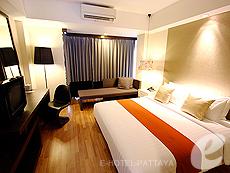 パタヤ サウスパタヤのホテル : マニタ ブティック ホテル(1)のお部屋「デラックス ルーム」