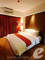 パタヤ サウスパタヤのホテル : マニタ ブティック ホテル(Manita Boutique Hotel)のジュニア スイートルームの設備 Bedroom