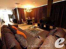 パタヤ サウスパタヤのホテル : マニタ ブティック ホテル(1)のお部屋「ペントハウス」