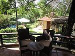 サムイ島 チョンモーンビーチのホテル : マンクート ヴィラ(Mankoot Villa)の2ベッドルームルームの設備 Balcony