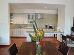 サムイ島 チョンモーンビーチのホテル : マンクート ヴィラ(Mankoot Villa)の3ベッドルームルームの設備 Dining Area