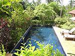 サムイ島 チョンモーンビーチのホテル : マンクート ヴィラ(Mankoot Villa)の3ベッドルームルームの設備 Private Pool