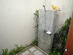 サムイ島 チョンモーンビーチのホテル : マンクート ヴィラ(Mankoot Villa)の3ベッドルームルームの設備 Outdoor Shower