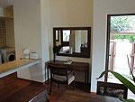 サムイ島 チョンモーンビーチのホテル : マパオ ヴィラ(Maprao Villa)の2ベッドルームルームの設備 Dining Area