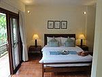 サムイ島 チョンモーンビーチのホテル : マパオ ヴィラ(Maprao Villa)の3ベッドルームルームの設備 Bedroom