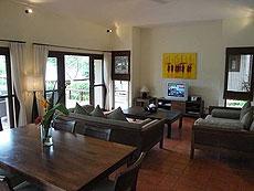 サムイ島 チョンモーンビーチのホテル : マパオ ヴィラ(1)のお部屋「3ベッドルーム」
