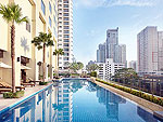 Swimming Pool : Marriott Executive Apartments Sukhumvit Park, 2 Bedrooms, Phuket