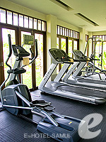 Fitness Gym : Melati Beach Resort & Spa, Serviced Villa, Phuket