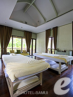 Spa Treatment Room : Melati Beach Resort & Spa, Serviced Villa, Phuket