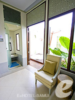 Spa Shower Room : Melati Beach Resort & Spa, Serviced Villa, Phuket