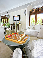 Poolside Lounge : Melati Beach Resort & Spa, Serviced Villa, Phuket