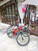Rental Bicycle : Melati Beach Resort & Spa, Serviced Villa, Phuket