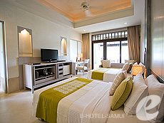 サムイ島 チョンモーンビーチのホテル : メラティ ビーチ リゾート & スパ(1)のお部屋「グランド デラックス」