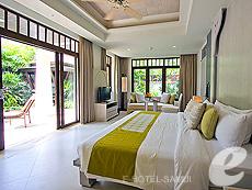 サムイ島 チョンモーンビーチのホテル : メラティ ビーチ リゾート & スパ(1)のお部屋「プライベートガーデン プール」