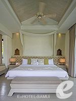 サムイ島 チョンモーンビーチのホテル : メラティ ビーチ リゾート & スパ(Melati Beach Resort & Spa)のファミリー プールヴィラ スイートルームの設備 Bedroom