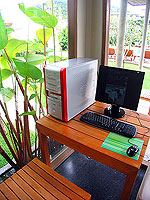 Internet Corner : Metadee Resort and Spa, Serviced Villa, Phuket