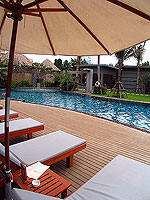 Poolside : Metadee Resort and Spa, Pool Villa, Phuket