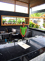 Poolside Bar : Metadee Resort and Spa, Serviced Villa, Phuket