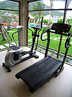 Fitness Gym : Metadee Resort and Spa, Serviced Villa, Phuket