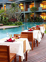 Poolside Restaurant : Metadee Resort and Spa, Free Wifi, Phuket