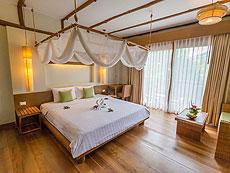 プーケット フィットネスありのホテル : メタディ− リゾート & スパ(1)のお部屋「デラックス プールビュー」