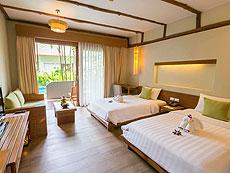 プーケット フィットネスありのホテル : メタディ− リゾート & スパ(1)のお部屋「デラックス プール アクセス」