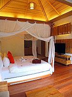 プーケット フィットネスありのホテル : メタディ− リゾート & スパ(Metadee Resort and Spa)のアクセス プールヴィラルームの設備 Bedroom