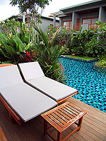 プーケット フィットネスありのホテル : メタディ− リゾート & スパ(Metadee Resort and Spa)のアクセス プールヴィラルームの設備 Terrace