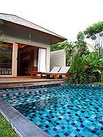 プーケット フィットネスありのホテル : メタディ− リゾート & スパ(Metadee Resort and Spa)のアクセス プールヴィラルームの設備 Direct Pool Access