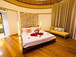 プーケット フィットネスありのホテル : メタディ− リゾート & スパ(Metadee Resort and Spa)のグランド プール ヴィラ スイート 3ベッドルームルームの設備 Bedroom