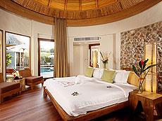 プーケット フィットネスありのホテル : メタディ− リゾート & スパ(1)のお部屋「グランド プール ヴィラ スイート 3ベッドルーム」