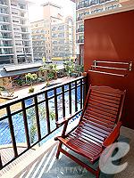 パタヤ ノースパタヤのホテル : マイク オーキッド リゾート(Mike Orchid Resort)のスタンダード ルームルームの設備 Balcony