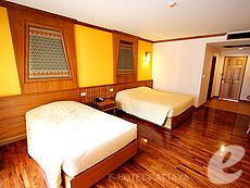 パタヤ ノースパタヤのホテル : マイク オーキッド リゾート(1)のお部屋「スタンダード ルーム」