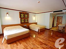 パタヤ ノースパタヤのホテル : マイク オーキッド リゾート(1)のお部屋「デラックス ルーム 」