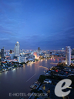 View from Rooftop / Millennium Hilton Bangkok,