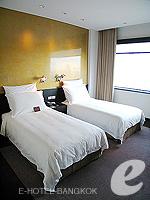Bedroom : Deluxe (แม่น้ำเจ้าพระยา) โรงแรมในกรุงเทพฯ, ประเทศไทย