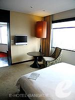 Bedroom : Executive Suite (แม่น้ำเจ้าพระยา) โรงแรมในกรุงเทพฯ, ประเทศไทย